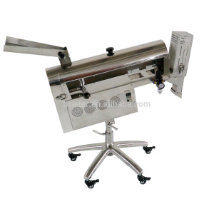 capsule polishing machine with sorting