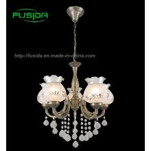 Antique Crystal Pendant Lamp, Die-Casting Light (D-8105/5A)