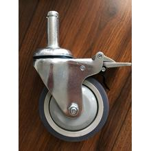4 inch shaft caster with TPE wheels