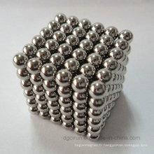 Boules magnétiques personnalisées de haute qualité de la couleur D5mm N35