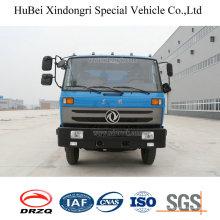 Camion de compacteur de déchets de chargement latéral automatisé de 10ton Dongfeng Euro 4