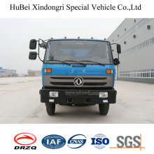 10ton Dongfeng Euro 4 Barrel Automated Side Loading Garbage Compactor Truck