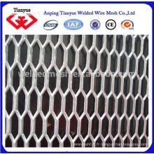Feuilles en métal expansé en aluminium