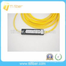 2 way mini Plastic box SC UPC FBT optic fiber splitter
