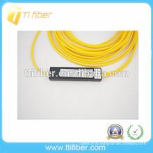 2 vias mini caixa de plástico SC UPC FBT divisor de fibra óptica
