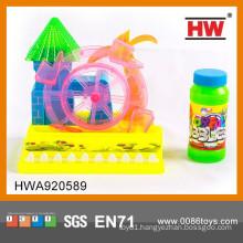 Interesting B/O Cartoon Blowing Bubble Machine Toys
