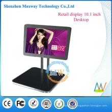 Pantalla LCD de escritorio de 10 pulgadas para publicidad minorista