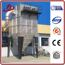 Superhigh temperature bag filter dust collector