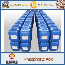 CAS No 7664-38-2 Ácido Fosfórico Líquido de Calidad Industrial 85%