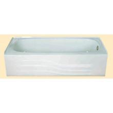Bañera de acero esmaltada incorporada con delantal
