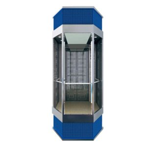 VVVF Panoramic Lift for Building Glass Elevators