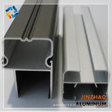 Profil d'extrusion en aluminium accessoires de quincaillerie profil aluminium