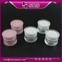 SRS amostra livre amostra creme frasco acrílico 5ml
