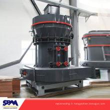 Célèbre broyeur de clinker de gypse de marque de SBM, moulin de poudre minérale de raymond