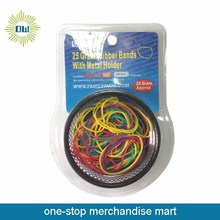 25Gram rubber bands with metal holder