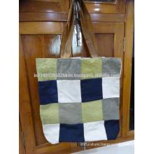 Color Blocked Handbag