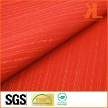 Polyester large largeur Rouge Tissu ignifuge ignifuge ignifuge / ignifuge