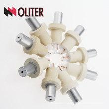 Thermocouple jetable d'immersion de type hotsale d'immersion d'OLITER avec le chapeau de laitier d'aluminium et le fabricant de fil de pt de rh