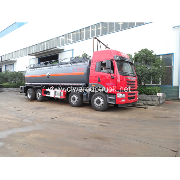 FAW 8x4 oil storage transportation fuel tank truck