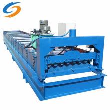 Máquina formadora de rolos para telhas esmaltadas