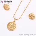 62598-Xuping Cheap Imitation Gold Jewelry Fashion Wholesale Jewelry Set
