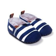 Criança infantil primeiro Walker mocassins sola macia 0-1 ano sapatos de bebê