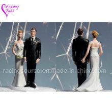 Любовь Pinch Кавказский Пара Свадебный Торт Топпер Статуэтка