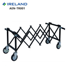 Dragon Mortuary High quality aluminium coffin trolley for sale