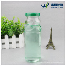 11oz 330ml High Flint Glass Apple Vinegar Bottle with Sealed Metal Lid