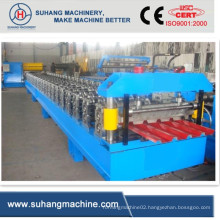 Metal Roofing Tiles Machine with PLC Control