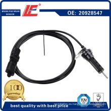 Indicador del sensor del desgaste del cojín del freno del carro / indicador del transductor de Thicnness 20928547 20554506 para el carro de Volvo