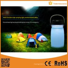Energía USB recargable linterna solar LED