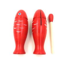 Jouets éducatifs pour bébé instruments de musique en bois castagnettes