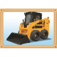 70kw Skid Steer Loader with CE, Mini Hydraulic Loader