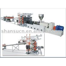 PP/PE Kunststoff Holzplatte Produktionslinie