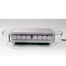 China Producción Fácil Movible Cigarrillo Enchufe Base magnética fuerte LED Mini tráfico Advertencia Lightbar