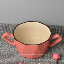Modern Design Enamal Ceramic Mug