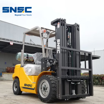 Forklift LP Gas 3.5ton Lifting Equipment Baru