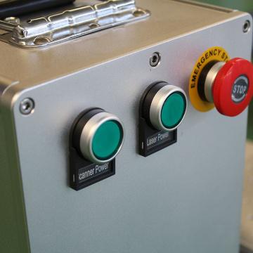 50W Auto Focus portable Laser Metal QR Code Printing Machine