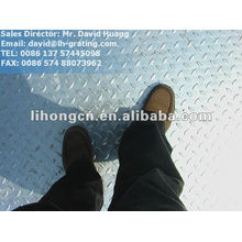 galvanized steel checkered floor plate