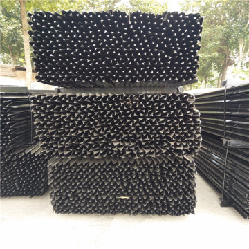 Pvc Coated Green T Star Fence Post