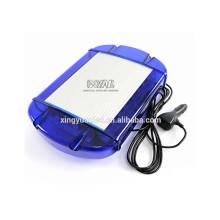 13'' Mini warning light bar DC12-24V Amber White color,Mini emergency light bar