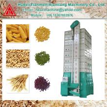 Secador de arroz de grão mini circulação de baixa temperatura