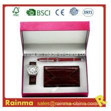 Watch Gift with Wallet and Pen