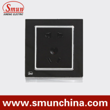 Black USA Socket, UK Socket, Aus Socket Multi-Function Wall Socket