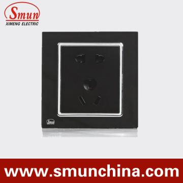 Negro USA Socket, Reino Unido Socket, Aus Socket Multi-Function Wall Socket