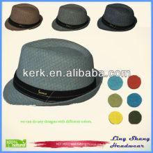 Sombrero de vaquero de Stetson Sombrero de vaquero occidental impreso impreso para la venta, RH-11