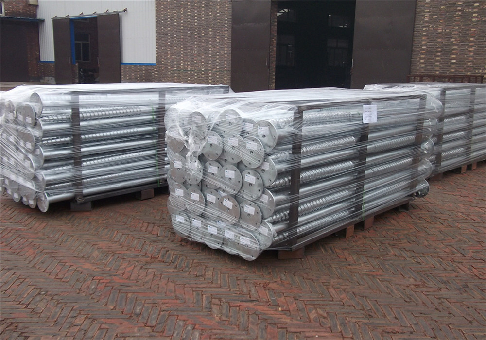packing of ground screw