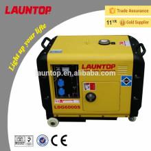 Супер тихий мини-тихий дизельный генератор с воздушным охлаждением 50 Гц / 60 Гц