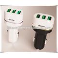 Mini chargeur de voiture TRIPLE USB Ports 5V4.8A 3 chargeur de voiture usb CHARGEUR DE VOITURES pour téléphone portable